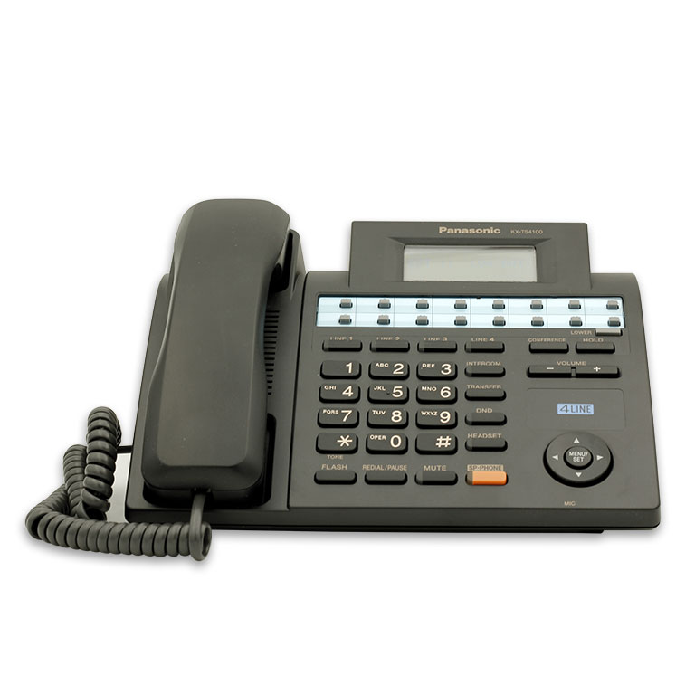 تلفن رومیزی پاناسونیک مدل KX-TS4100