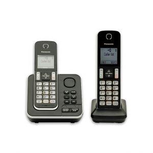 تلفن بی سيم پاناسونيک مدل KX-TGD392 مناسب برای منازل و ادارات