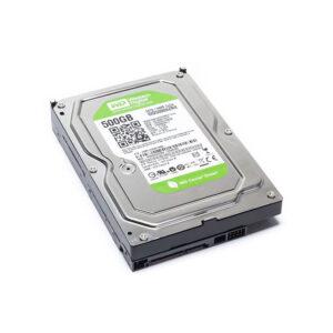 هارد دیسک اینترنال وسترن 500 گیگابایتی سری سبز