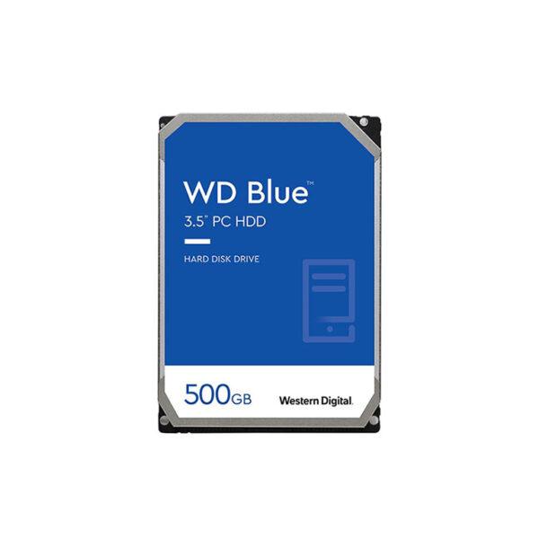 هارد دیسک اینترنال وسترن 500 گیگابایتی سری آبی